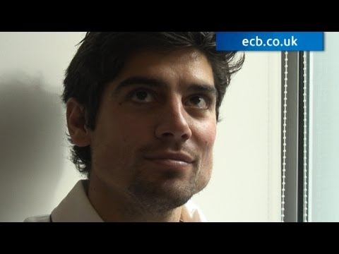 Alastair Cook behind the scenes photoshoot