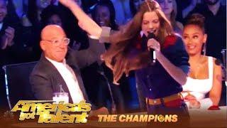 Courtney Hadwin: Shy Rocker Girl Is Back With SHOCKING Performance | America's Got Talent: Champions