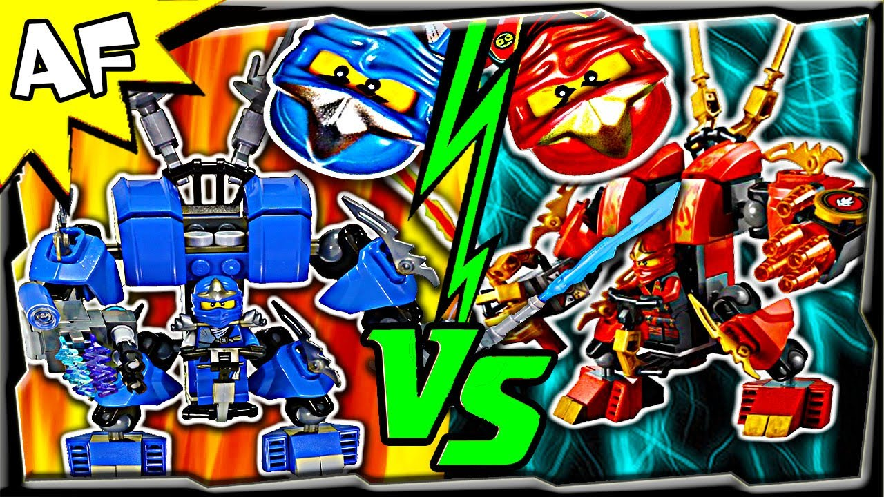Jay vs kai lego ninjago mech battle 1 ending a youtube - Ninjago vs ninjago ...