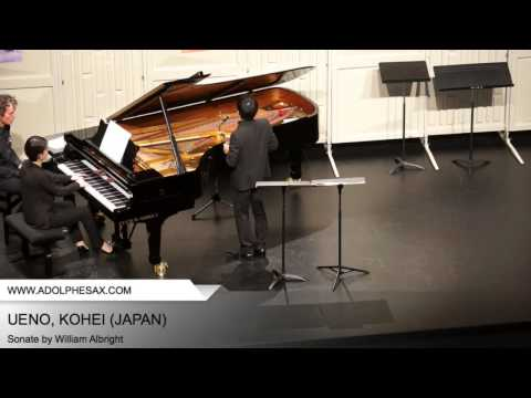 Dinant 2014 – Ueno, Kohei – Sonate by William Albright