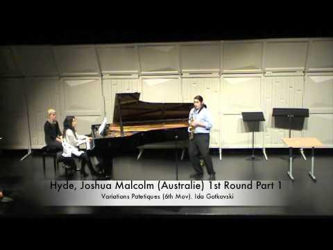 Hyde, Joshua Malcolm (Australie) 1st Round Part 1