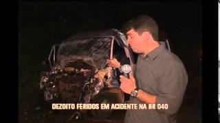 PRF contabiliza 14 mortes em estradas federais que cortam Minas durante o feriado