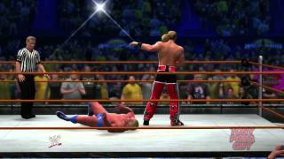WWE 2K14 30 Years of WrestleMania - Part 2 - WrestleMania 10, 22, & 24 - Razor, HBK, Edge & Flair