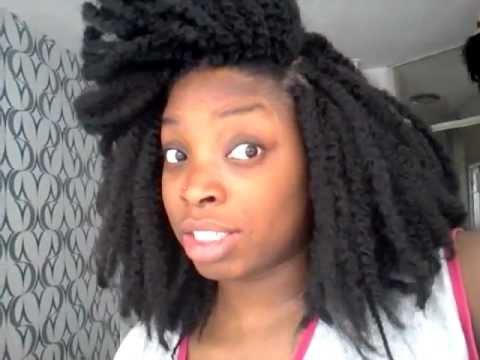 Crochetbraids marley hair - YouTube