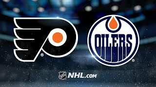Balanced attack leads Flyers past Oilers, 4-2