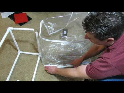 How to Easily Repurpose a Plastic Quilt Bag into Mini-Greenhouse: Seed Starts & Transplants