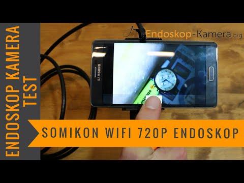 Somikon Wifi 720p Endoskop Kamera Test