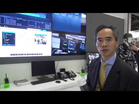 CCW 2014 Singapore - Interview with MK Wong, Hytera