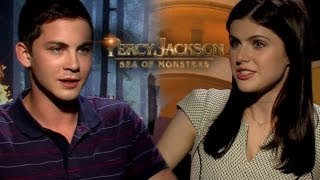Logan Lerman & Alexandria Daddario Percy Jackson:Sea Of