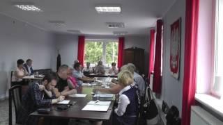 29 czerwca 2017r. w Ośrodku Kultury, Sportu i Turystyki we Wleniu odbyła się XXXIII Sesja Rady Miasta