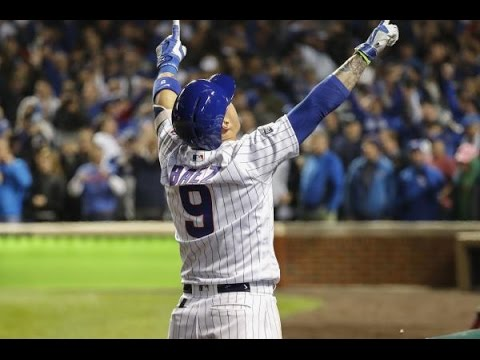 Javier Baez - All Hit , Hustles Plays , Game Winning Hits so far this Postseason