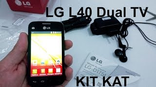 LG L40 Dual TV Unboxing E Primeiras Impressões (Pt-br