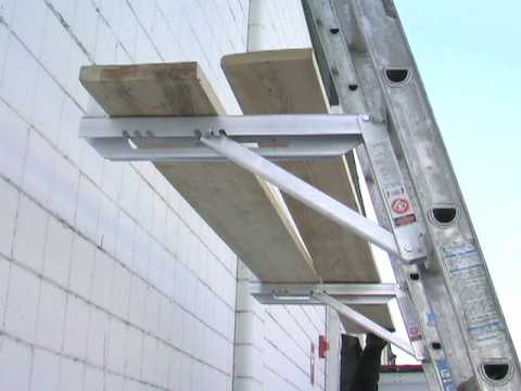 Fulton Adjustable Ladder Brackets Youtube