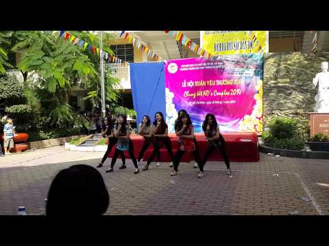 [HotChicks] Đón Xuân - Tình Yêu Màu Nắng Remix [Dance Performance at NGuyễn Du High School] !
