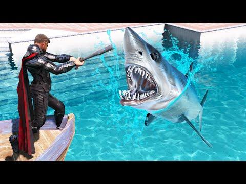 GTA 5 Water Ragdolls | THOR Jumps/Fails #2 (Euphoria Physics | Funny Moments)