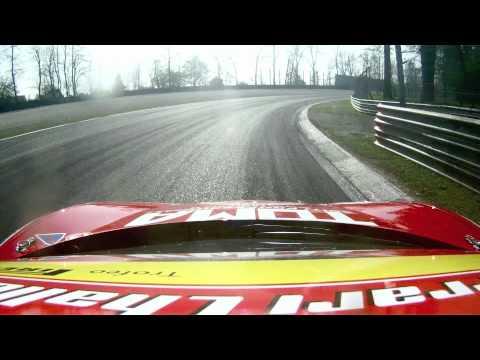 Ferrari 458 Challenge Max Blancardi Monza 2012