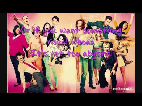 Glee - Sweet Transvestite with lyrics