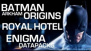 Batman: Arkham Origins Enigma Datapacks Gotham City