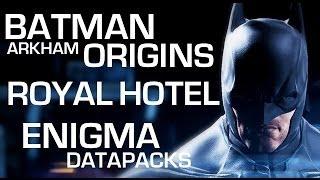 Batman: Arkham Origins Enigma Datapacks Gotham City