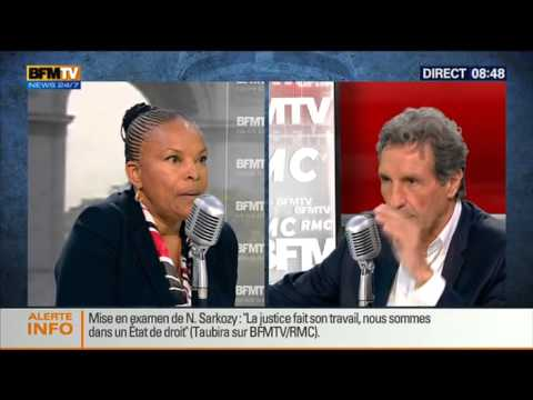 Bourdin Direct: Christiane Taubira - 07/07