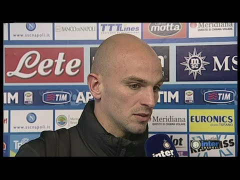 INTERVISTA ESTEBAN CAMBIASSO POST NAPOLI-INTER