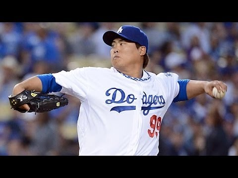 Hyun-jin Ryu Highlights 2013 HD