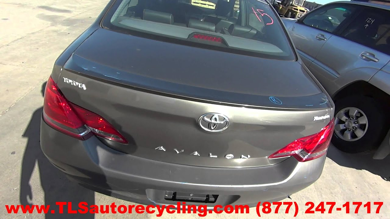 Parting Out 2005 Toyota Avalon - Stock - 5180GY - TLS Auto Recycling