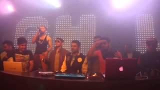 Yo Yo Honey Singh Breakup Party Music Launch @ Club