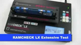 DDR3 DDR2 Memory Tester: RAMCHECK LX