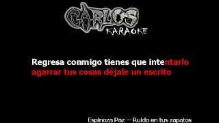Ruido En Tus Zapatos- Espinoza Paz Lyrics
