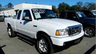 2007 FORD RANGER XLT SUPERCAB 4X4 * LEATHER * FOR SALE @ RAVENEL FORD videos