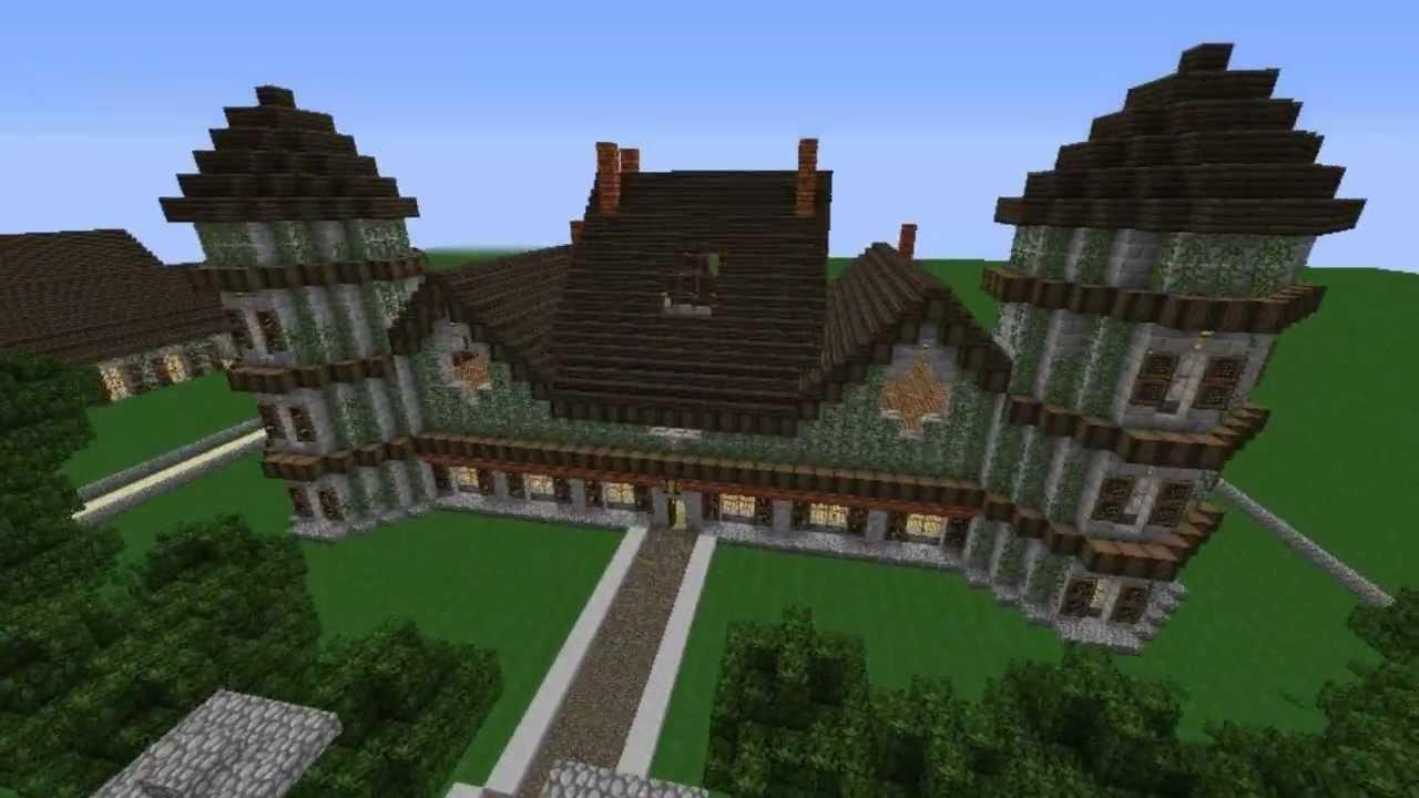 Minecraft maison de campagne youtube - Minecraft video maison ...