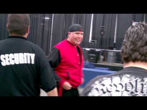 Meeting Scott Hall at Frank & Sons 3/1/2014