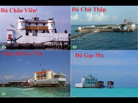 Danh sách  các đảo Trung Quốc chiếm đóng trái phép ở QĐ Trường Sa