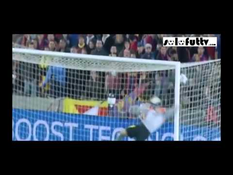 Barcelona vs Atletico Madrid GOL de Diego Ribas 0-1 Champions League 2014