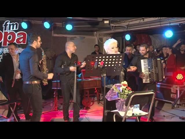 Monica Anghel & Mahala Rai Banda - Lacrima de jar | LIVE in Garajul Europa FM