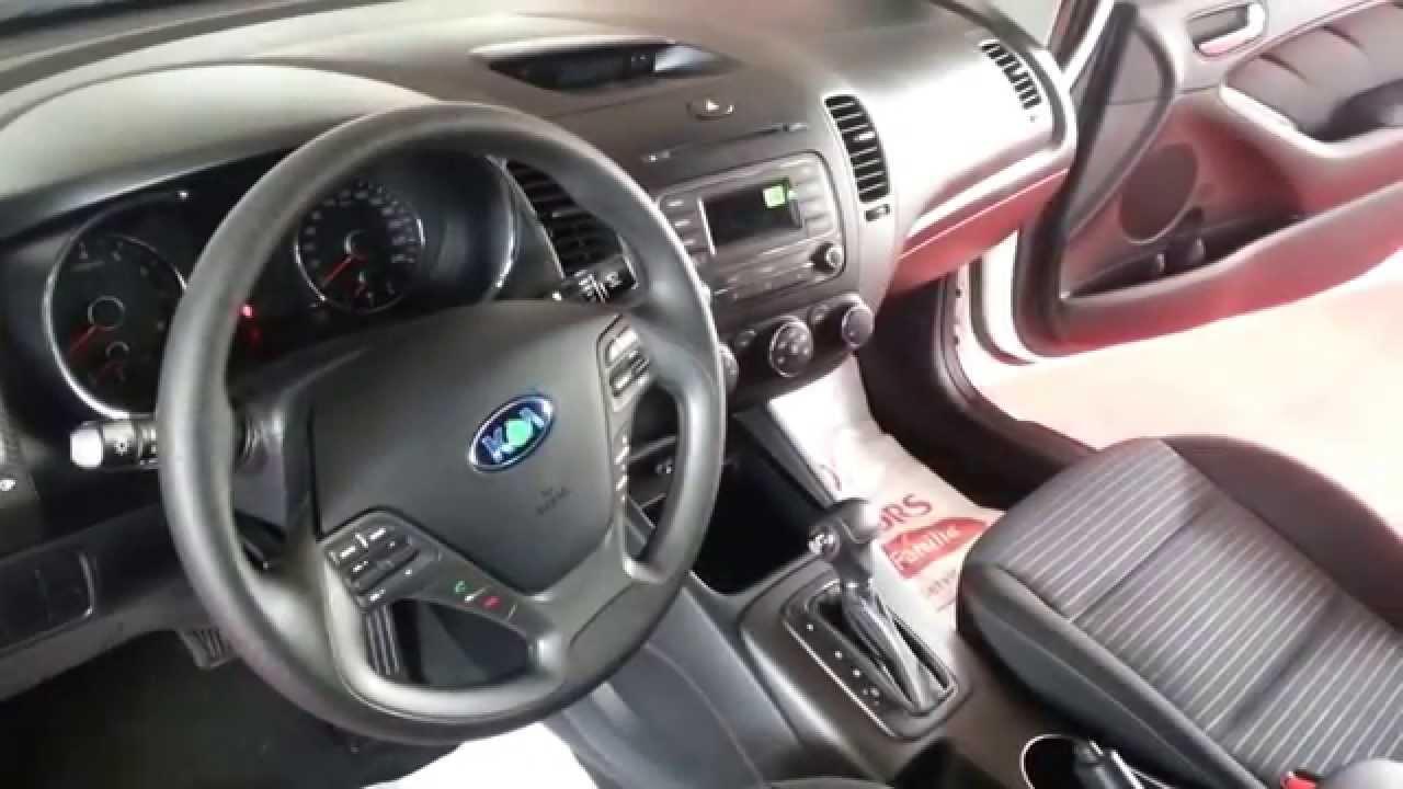 Interior Nuevo Kia Cerato Pro  video review Caracteristicas