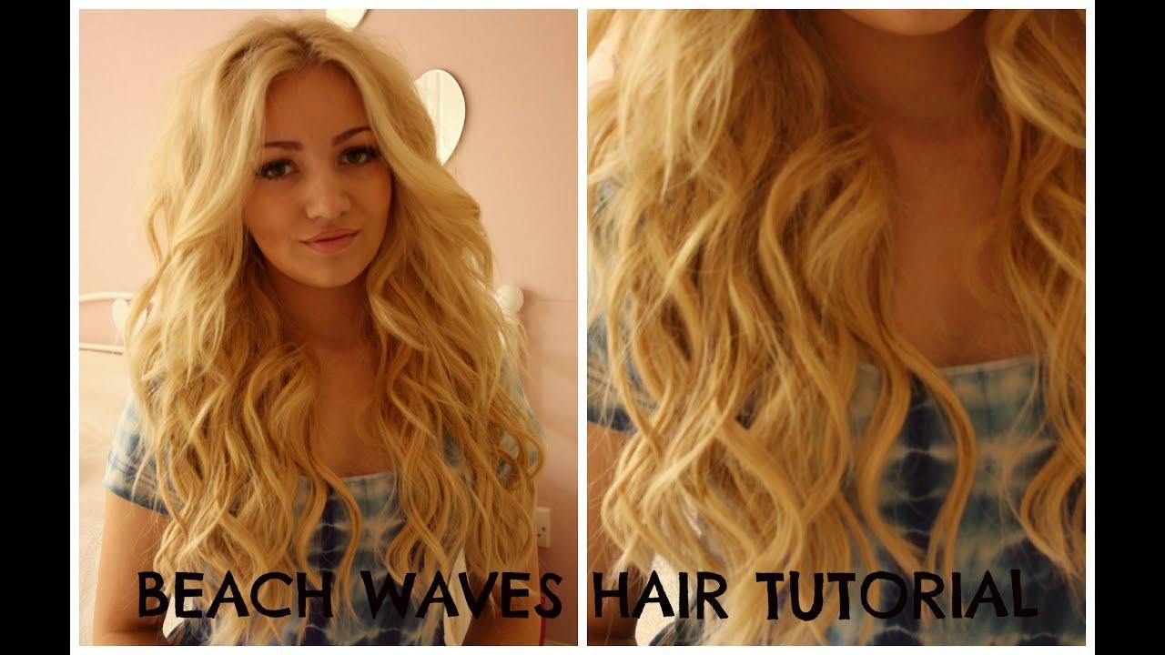 HAIR TUTORIAL / curling wand PERFECT VICTORIA SECRET/HOLLISTER HAIR