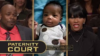 Woman Married While Dating Other Man (Full Episode)   Paternity Court