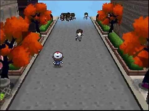 Pokémon Black / White [TAP] : Blocking passers at Castelia City