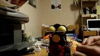 Circuit-bent Furby