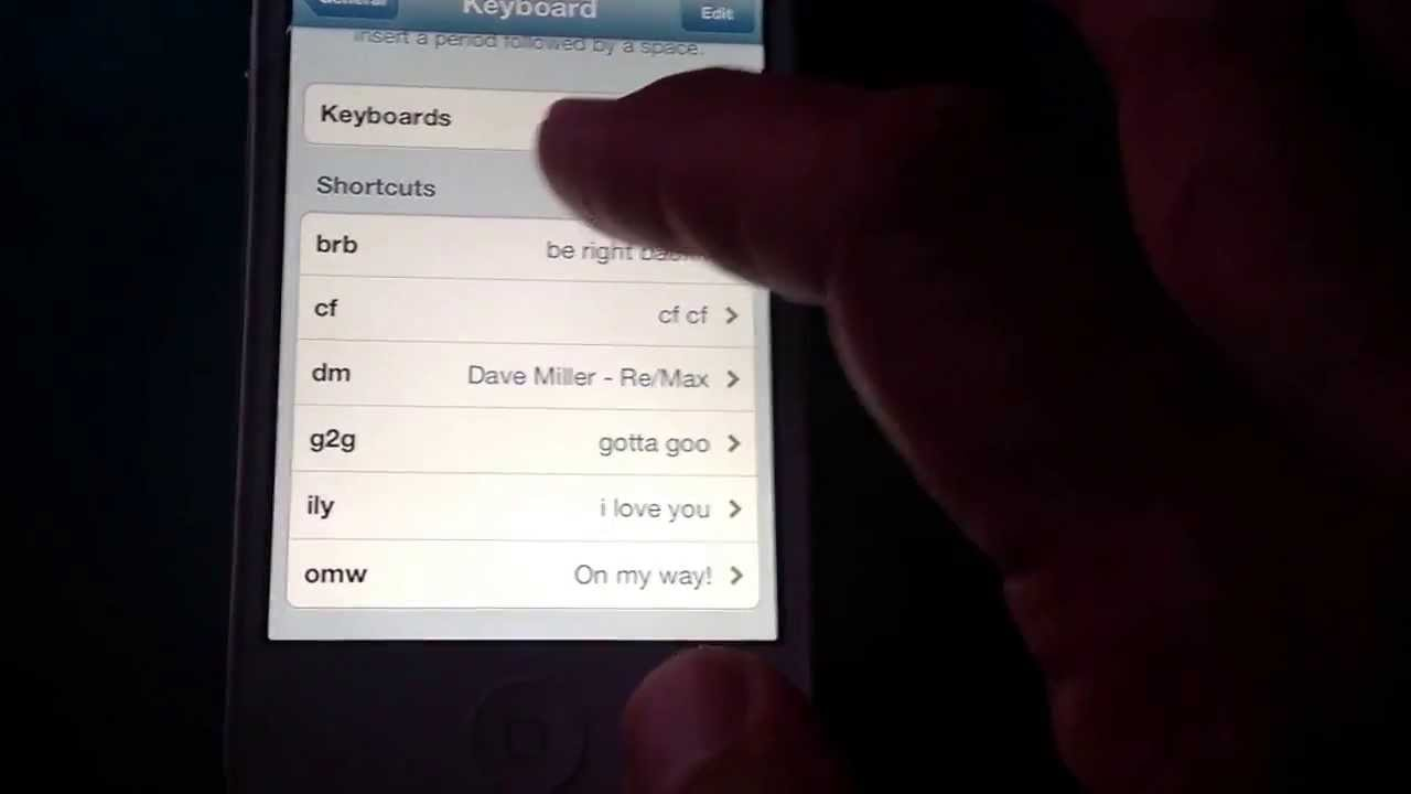 how to put your name on your iphone
