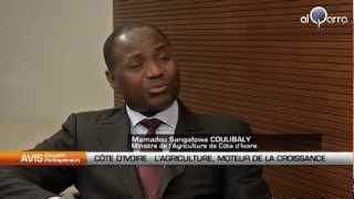 Mamadou Sangafowa Coulibaly, ministre de l'Agriculture de Côte d'Ivoire.
