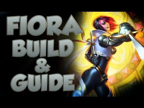 League of Legends - Fiora Build - with Commentary