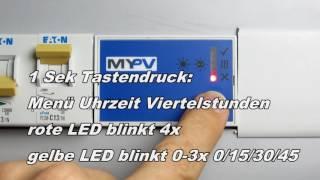 Video: MY PV – Anleitung PLA Nachladung und Uhrzeit einstellen