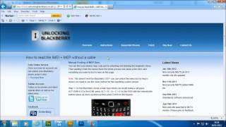 EasyBB Blackberry Unlock Software MEP Codes Calculator