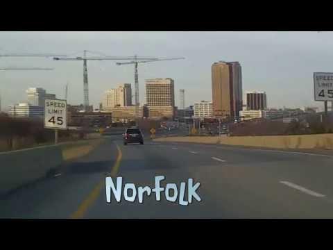 Norfolk, VA Skyline