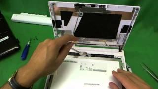 Acer Aspire One Happy Netbook Screen Replacement Procedure