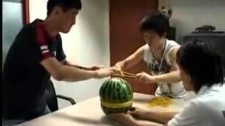 Watermelon Vs. Rubber Bands