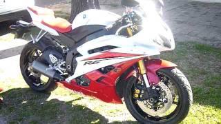 Yamaha R6 2008 Al Corte